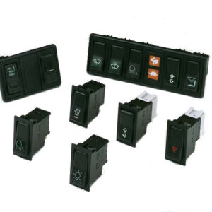 Sprague Devices electric rocker switches